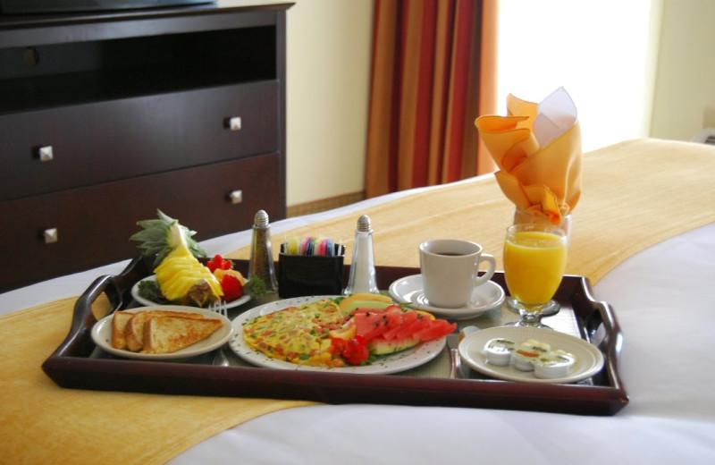 Room service at Radisson Hotel Dallas Love Field.