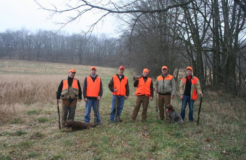 Hunting at Cedar Valley Lodge & Hunting.
