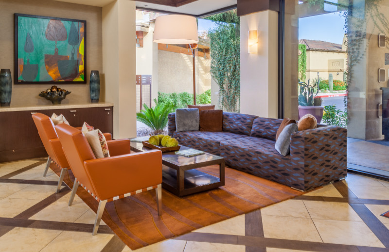 Lobby at Holiday Inn Club Vacations Scottsdale Resort.