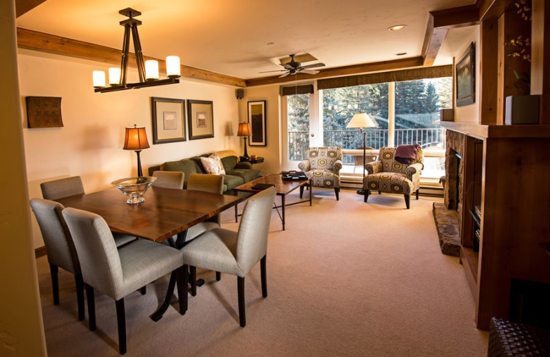 Seibert Suite interior at Vail Mountain Lodge & Spa.