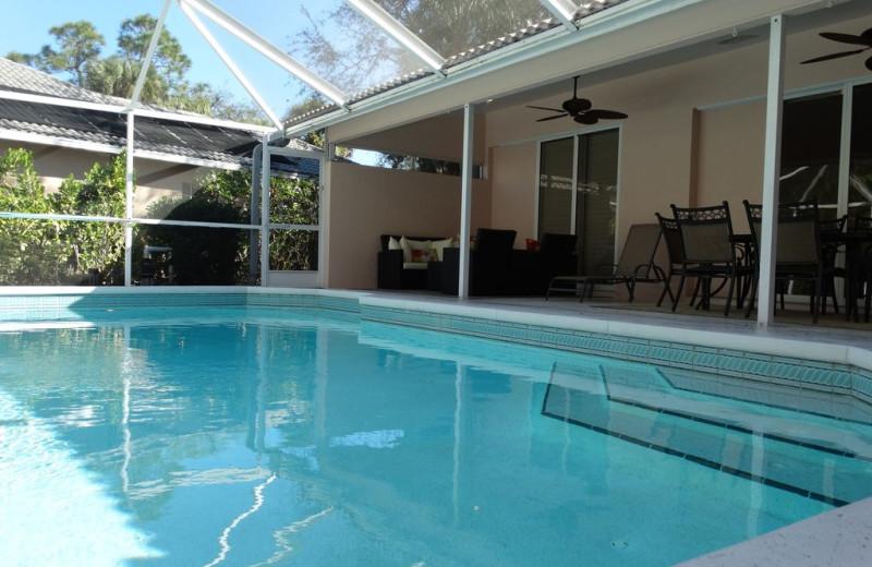 Rental pool at Realty Group Southwest Florida.