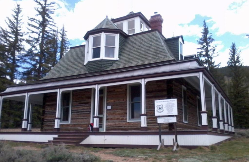 Dexter built Interlaken Resort in the 1800's but it only had about 20 years before it was deserted. His home in Leadville is in the original state, unfortunately Interlaken has fallen into disrepair. Volunteer groups are slowly restoring these beautiful buildings.