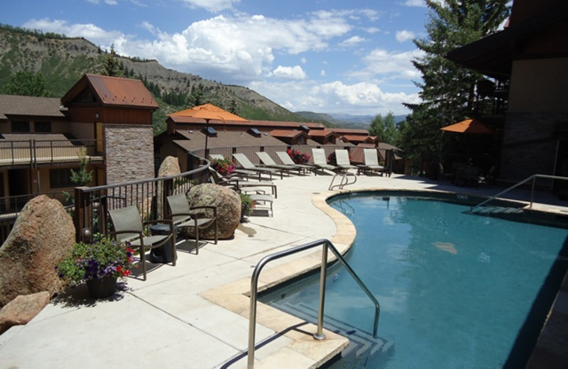 Outdoor pool at The Crestwood.