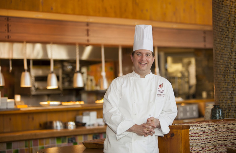 Chef at Stowe Mountain Lodge.