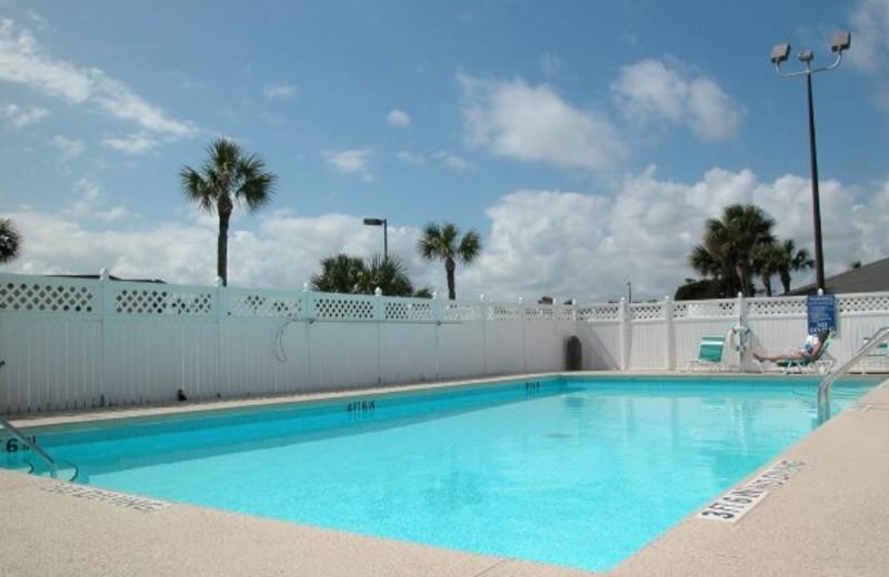 Outdoor pool at St. Augustine Ocean & Racquet Resort.