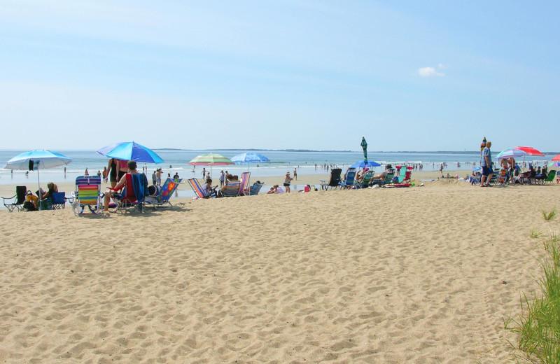 Beach at Alouette Beach Resort.