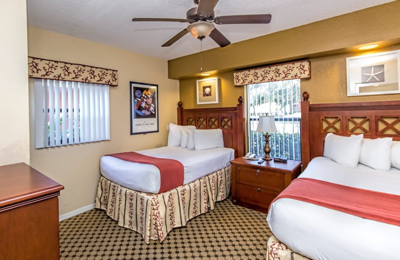 Guest bedroom at Westgate Lakes Resort & Spa.