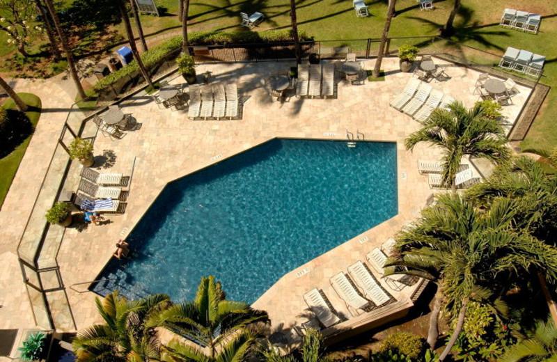 Outdoor pool at Mana Kai Maui.