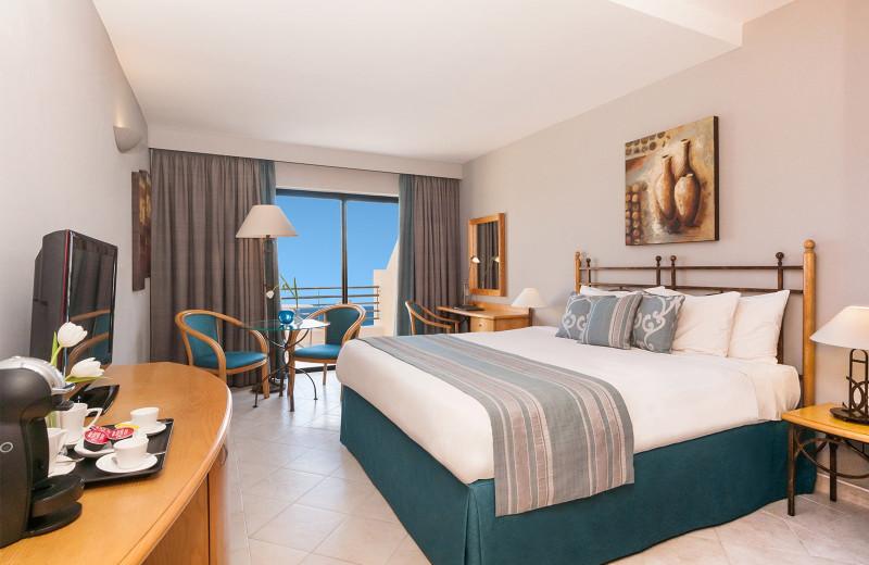 Guest room at Corinthia Marina Hotel.