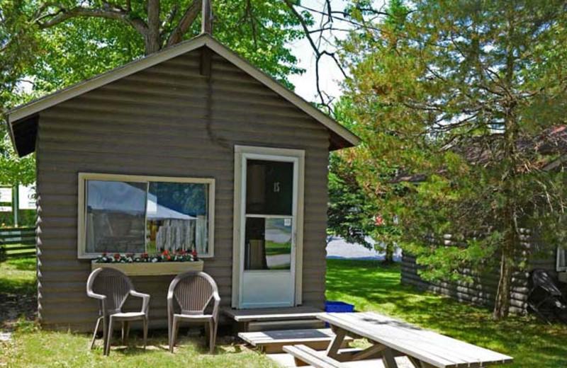 Cabin exterior at Sunnylea.