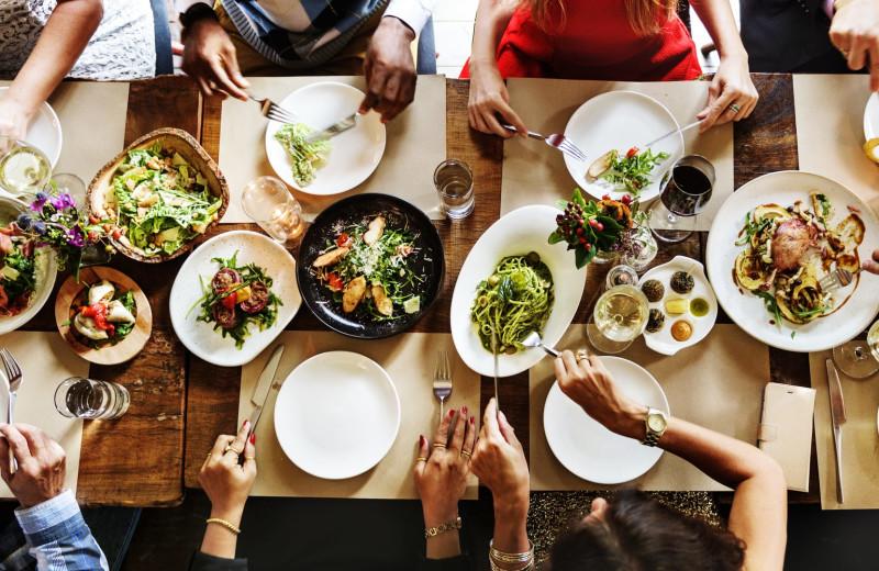 Dining near Woodfield Properties.