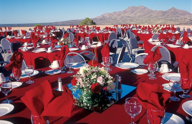 Reception at Esplendor Resort