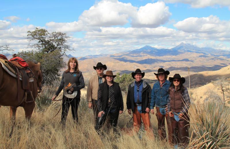 Group at Circle Z Ranch.