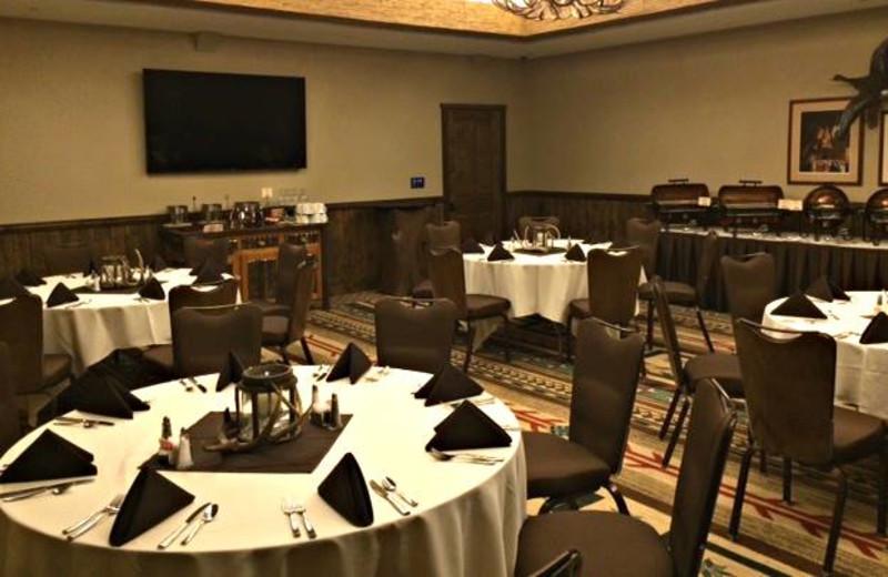Meeting room at Big Cypress Lodge.