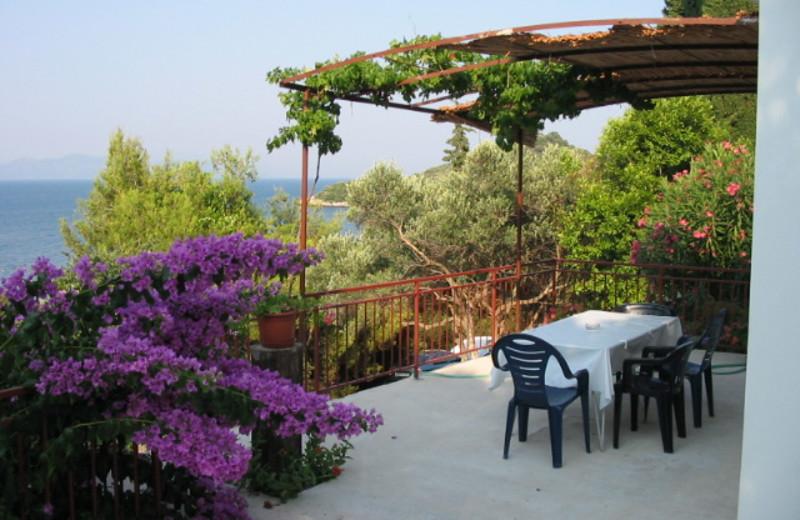 Patio at Adriatic Villas.