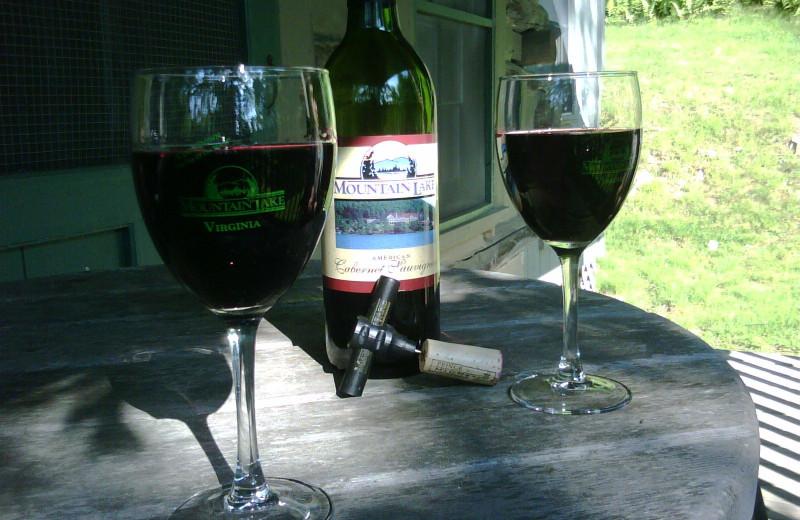 Fine Wine at Mountain Lake Hotel