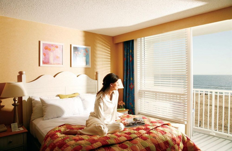 Resort guest room at Gold Key Resorts.