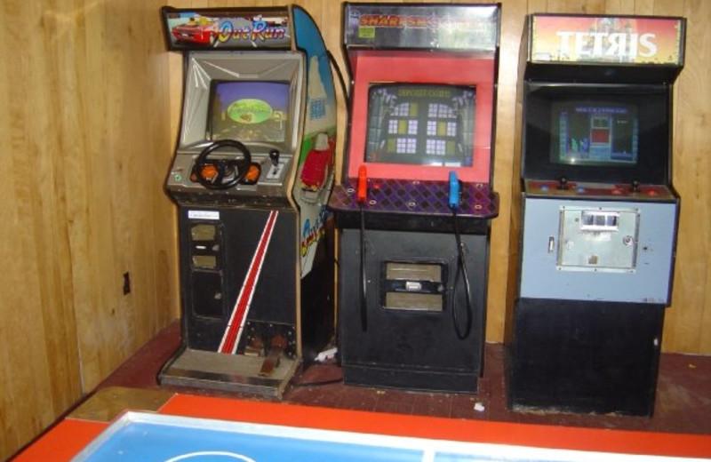 Free Game room at Boulders Resort.
