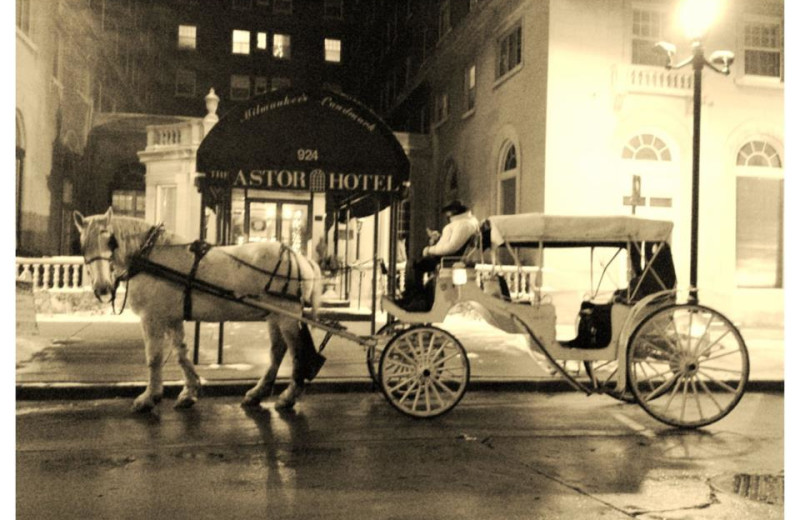 Carriage Ride at The Astor Hotel