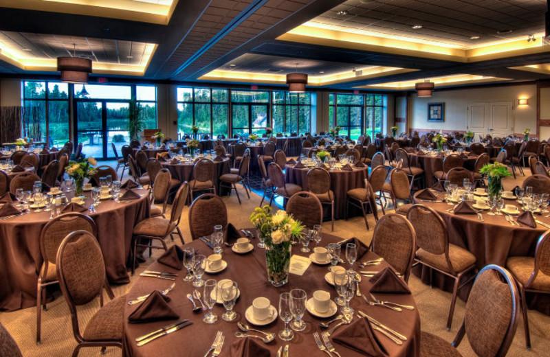 Conference room at Elk Ridge Resort.
