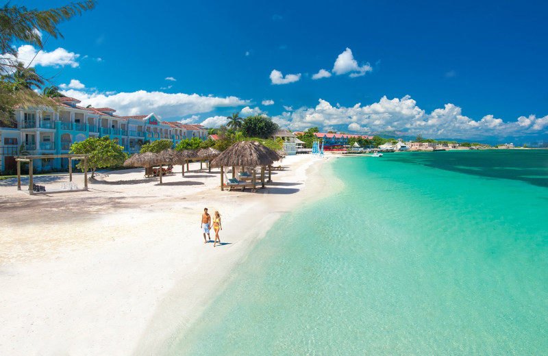 Exterior view of Sandals Montego Bay.
