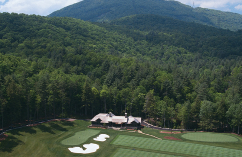 Aerial view of The Greystone Inn.