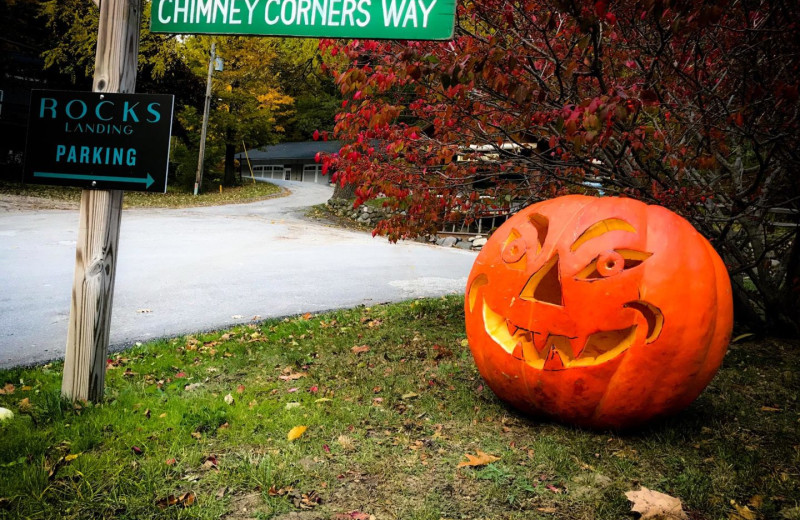 Halloween at Chimney Corners Resort.