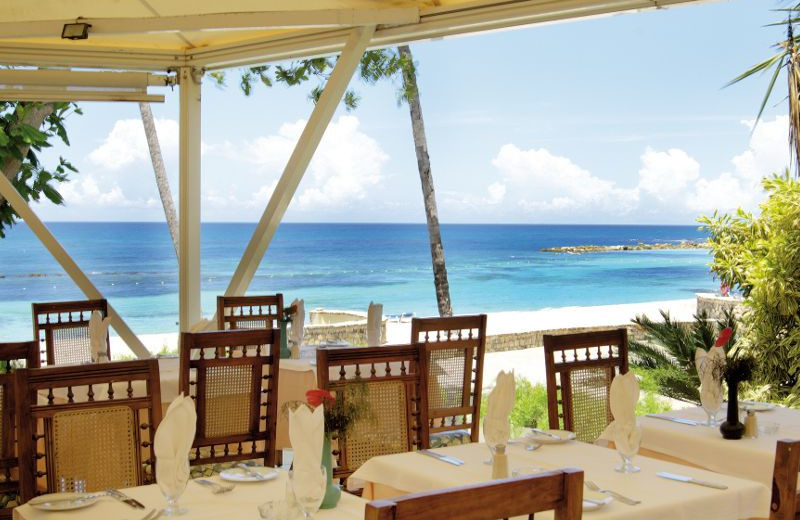 Dining Area With Ocean View at Barceló Capella Beach