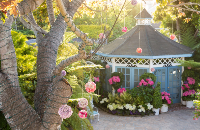 Gazebo at Millrose Inn.
