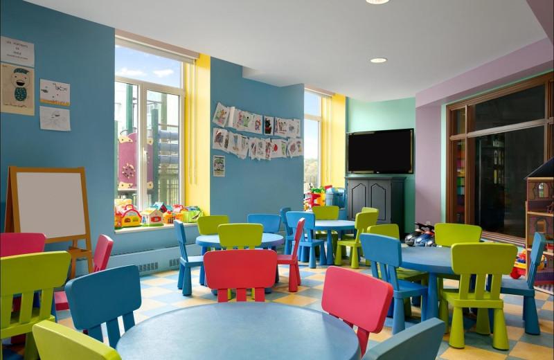 Kids room at Fairmont Le Manoir Richelieu.