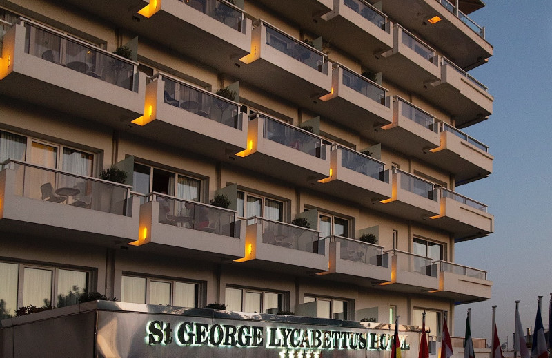 Exterior view of St. Gorge Lycabettus Boutique Hotel.