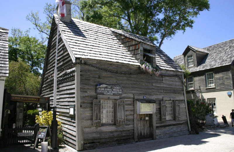 Oldest wooden school house near Old City House Inn & Restaurant.