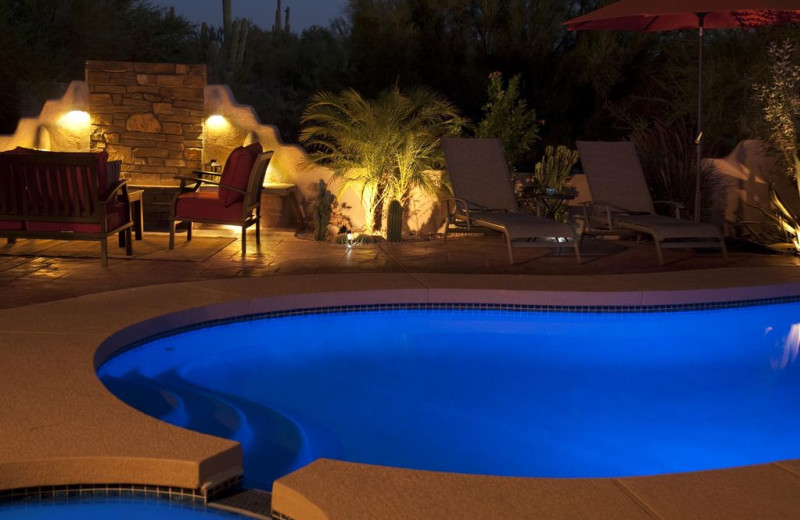 Rental pool at Latitude 8 Vacation Rentals.