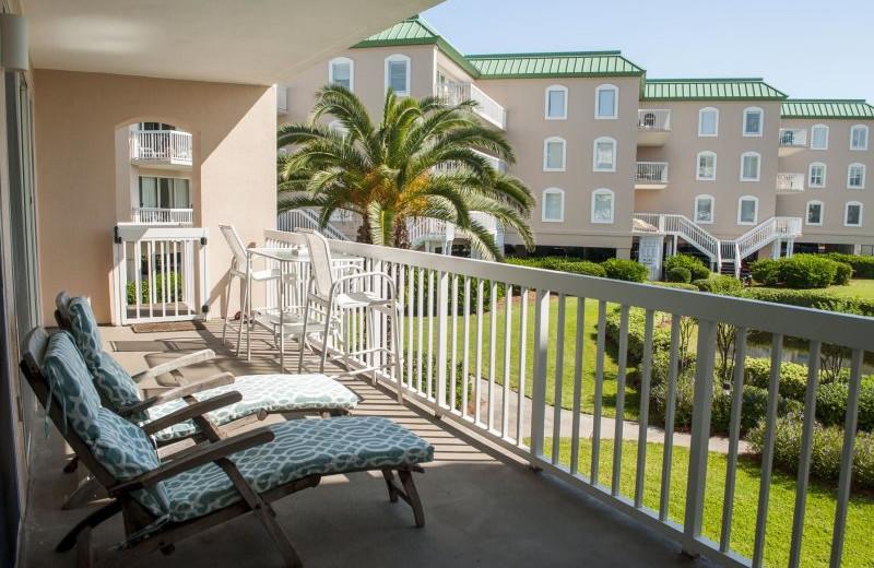 Rental balcony at SSI Fun.