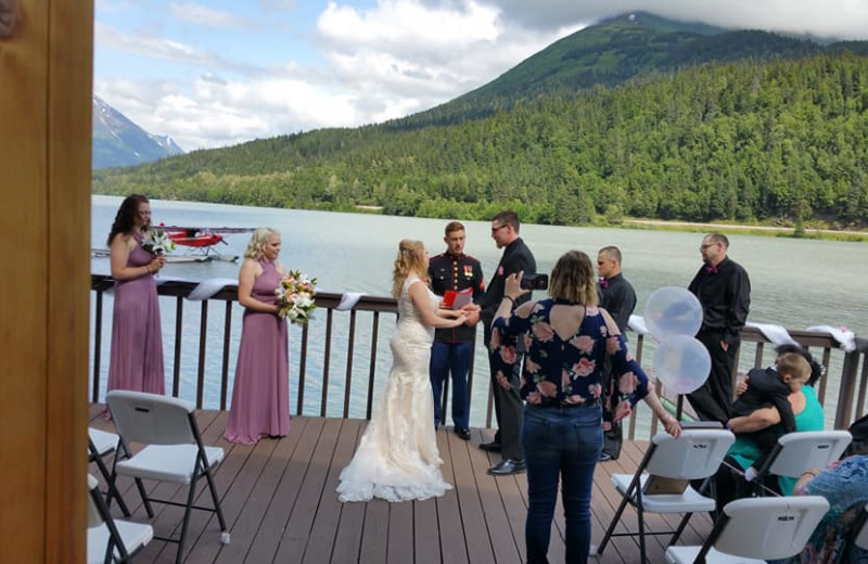Weddings at Trail Lake Lodge.