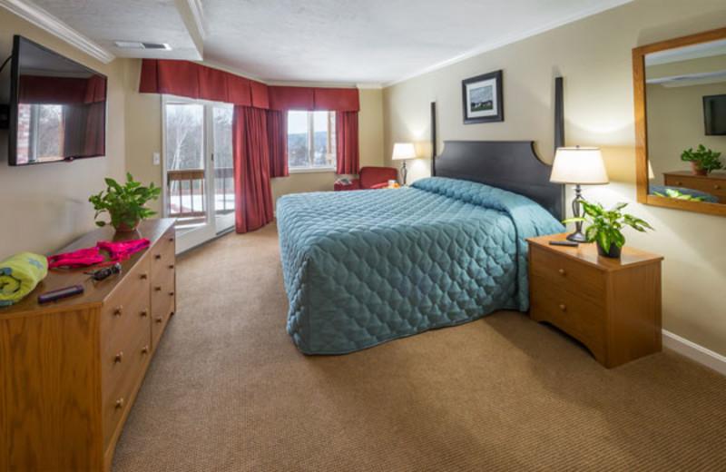 Guest suite at Summit Resort.