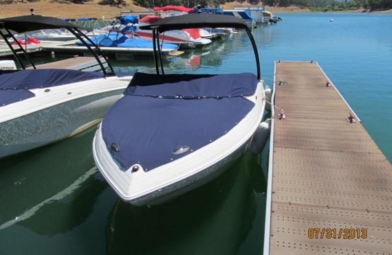 Boat rental at Pleasure Cove.