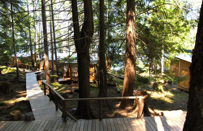 Exterior view of Cabana Desolation Eco Resort.
