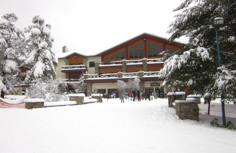 Exterior view of Holiday Valley Resort.