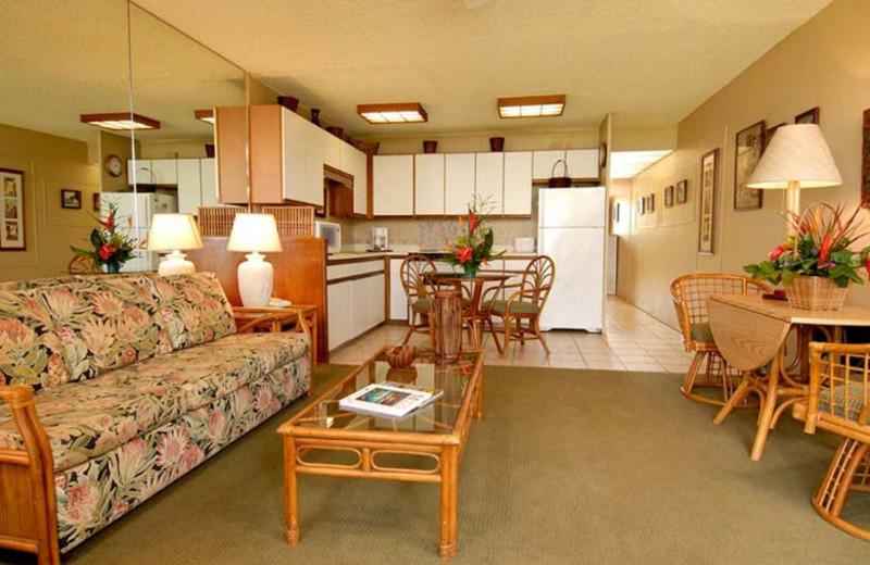 Spacious accommodation at Hale Kai O Kihei