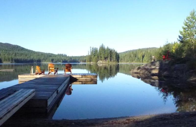Dock at Star Lake Fishing Resort.