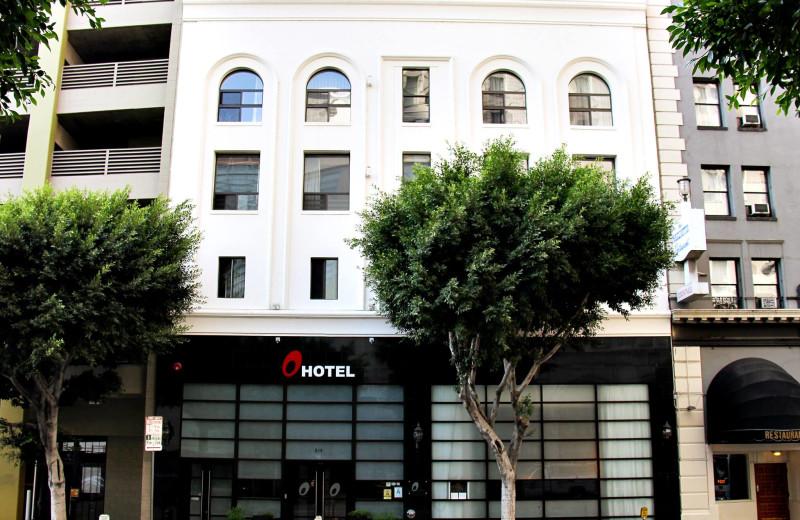 Exterior view of O Hotel.