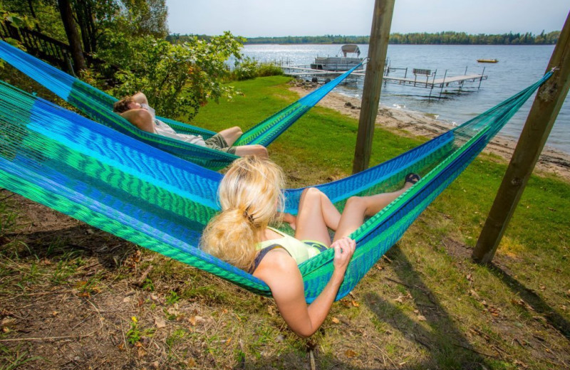 Hammocks at Kohl's Resort.