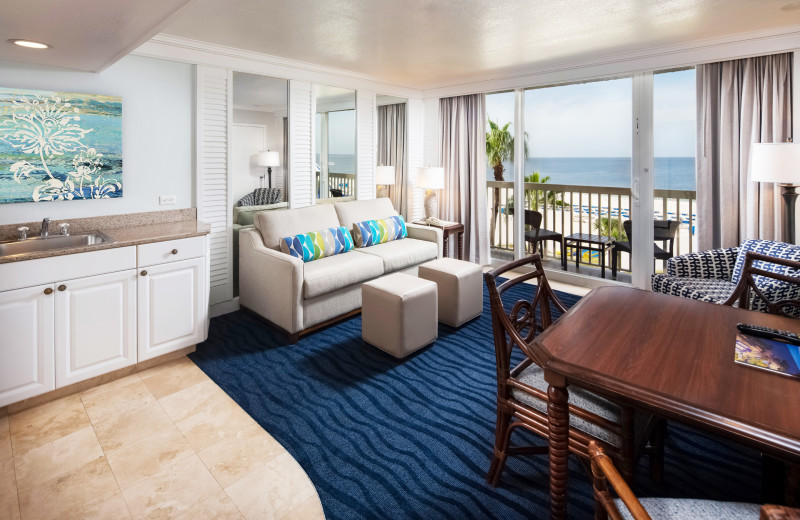 Guest condo at TradeWinds Island Grand.