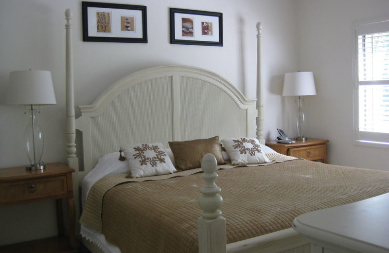 Guest room at The Anchorage.