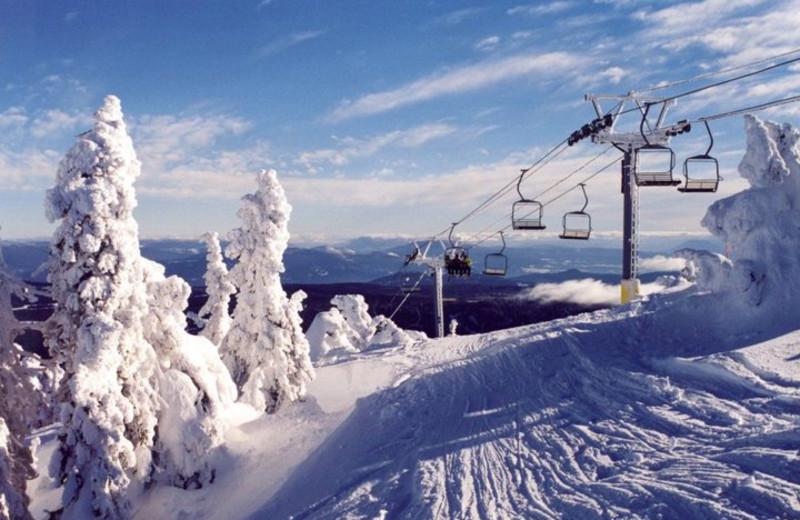 Ski slopes at Cahilty Lodge.