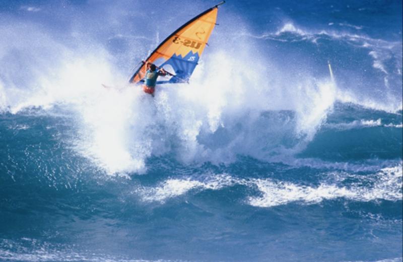 Surfing at Sofitel Capsis Palace & Capsis Beach Hotel.