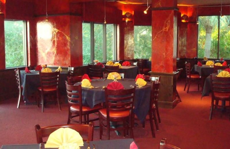 Dining area at Boca Grande Resort.
