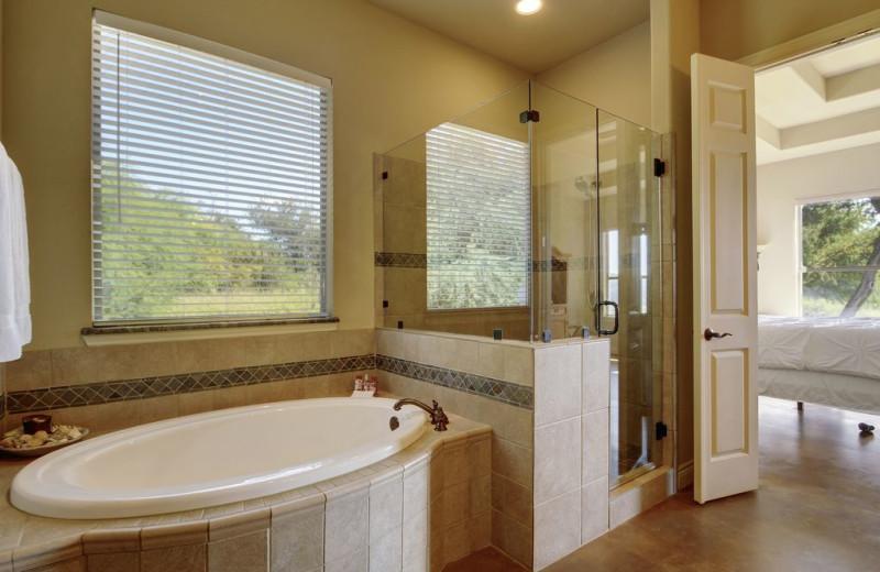Bathroom at Hill Country Ranch at Lake Travis.