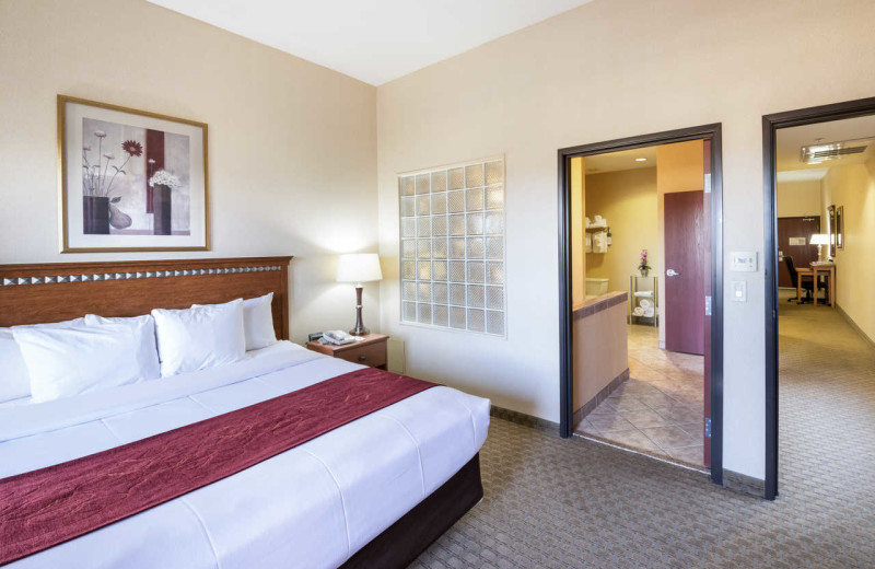 Guest room at Comfort Suites- Goodyear.